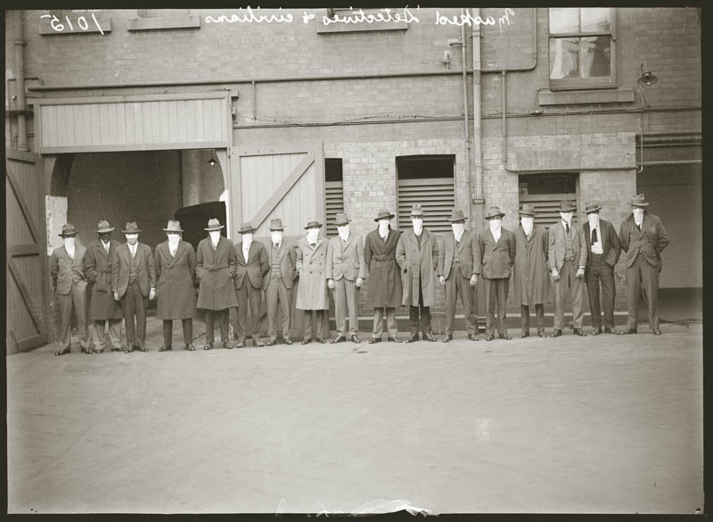 old vintage police record crime photos black and white sydney 17 20 Vintage Photos of Prohibition in Boston