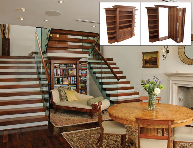 secret hidden passageways in house creative home