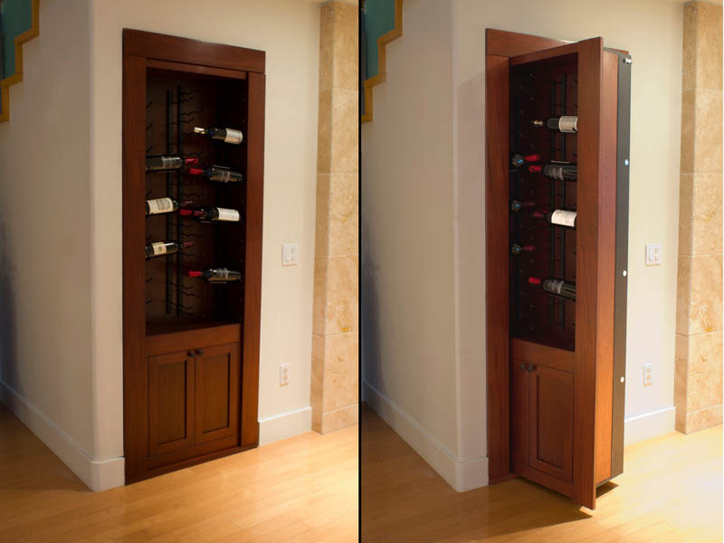 Creative Home Design Secret Doors