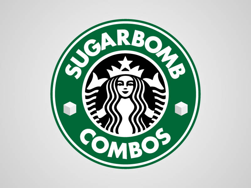 starbucks funny honest logo What if Logos Told the Truth?