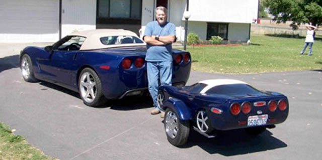 trailers that look like miniature cars 1 16 Bizarre Trailers That Look Like Miniature Cars