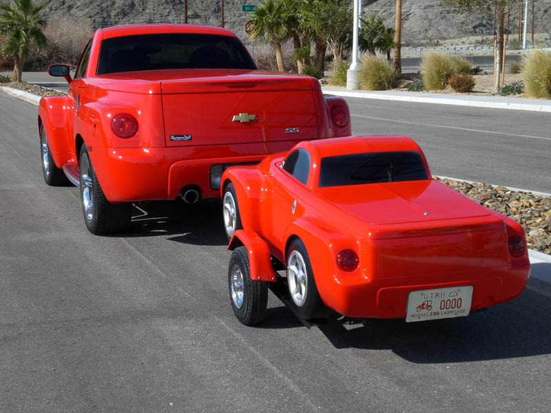 trailers that look like miniature cars 18 16 Bizarre Trailers That Look Like Miniature Cars