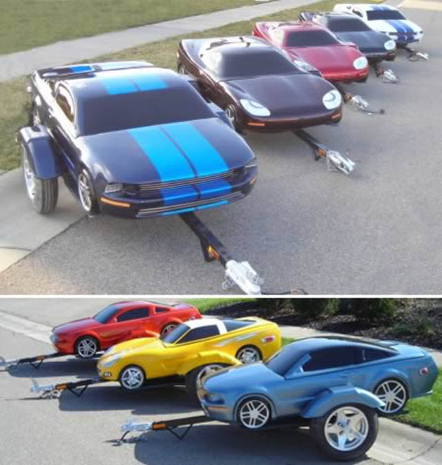 trailers that look like miniature cars 2 16 Bizarre Trailers That Look Like Miniature Cars