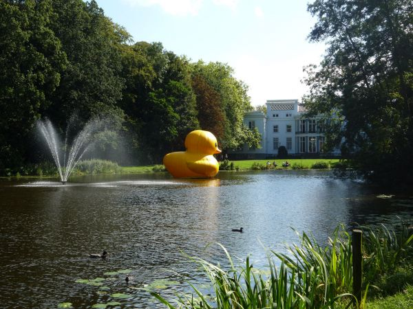 wassenaar the netherlands giant inflatable rubber ducky florentijn hofman 2 The World Travels of a Giant Rubber Duck