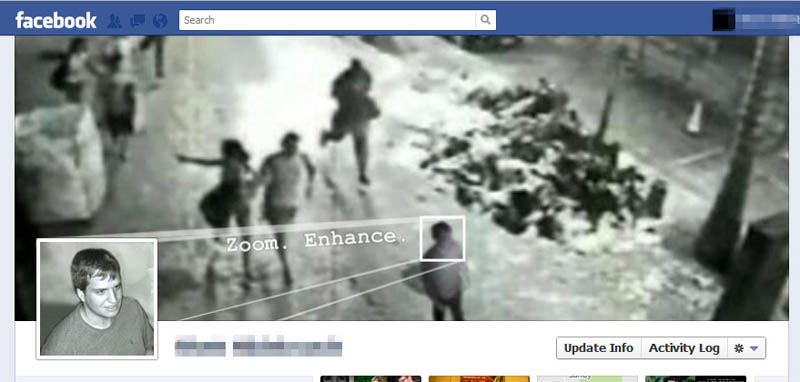 zoom enchance csi facebook timeline cover photo 25 Funny and Creative Facebook Timeline Covers