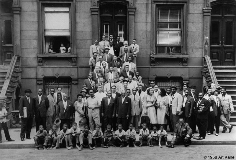 a great day in harlem 1958 57 jazz legends art kane The Most Epic Group Photos You Will See Today