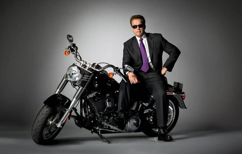 arnold shwarzenegger terminator empire shoot Actors Revisit Their Famous Roles in Normal Attire
