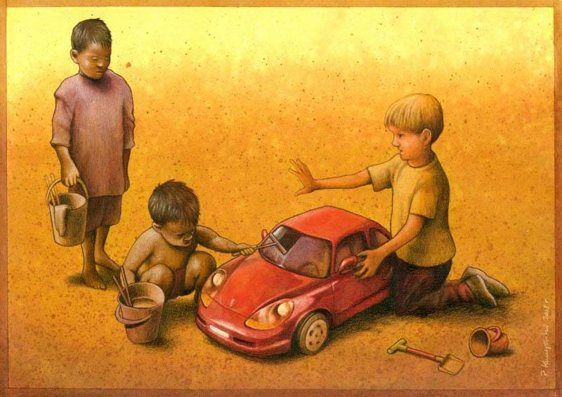 poverty satire