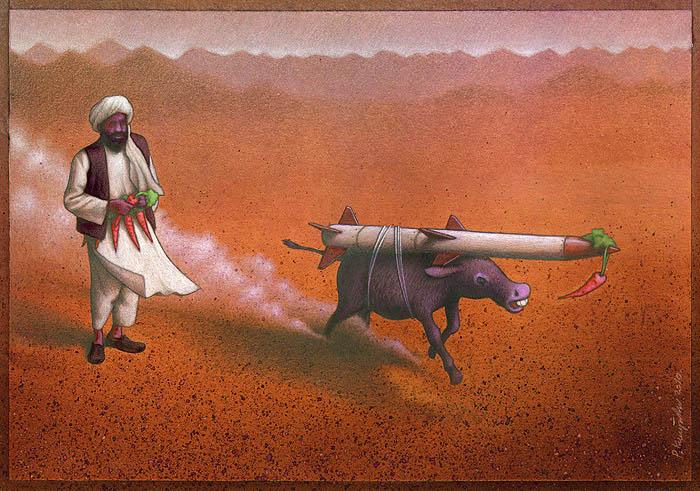 artwork satire cartoonist pawel kuczynski polish 12 Brilliant Satirical Artwork by Pawel Kuczynski