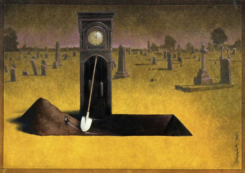 artwork satire cartoonist pawel kuczynski polish 15 Brilliant Satirical Artwork by Pawel Kuczynski