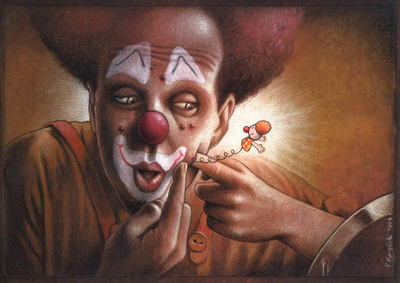 artwork satire cartoonist pawel kuczynski polish 16 Brilliant Satirical Artwork by Pawel Kuczynski