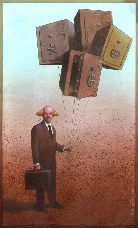 artwork satire cartoonist pawel kuczynski polish 17 Brilliant Satirical Artwork by Pawel Kuczynski