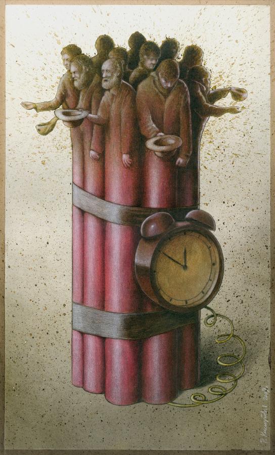artwork satire cartoonist pawel kuczynski polish 19 Brilliant Satirical Artwork by Pawel Kuczynski