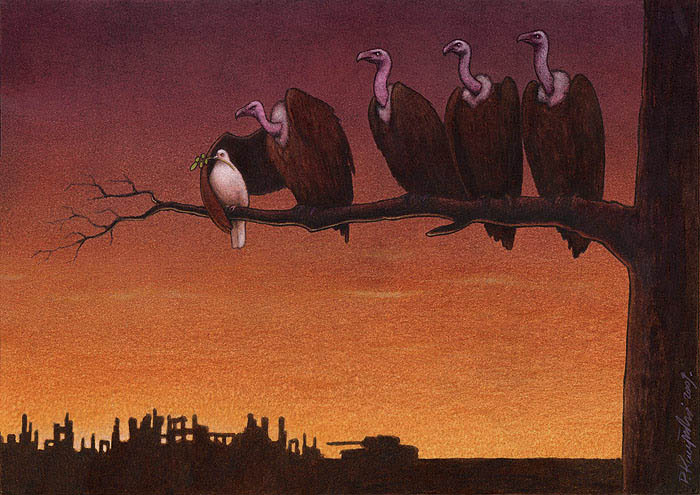 artwork satire cartoonist pawel kuczynski polish 21 Brilliant Satirical Artwork by Pawel Kuczynski