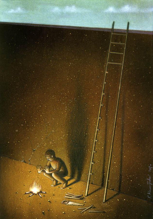 artwork satire cartoonist pawel kuczynski polish 22 Brilliant Satirical Artwork by Pawel Kuczynski
