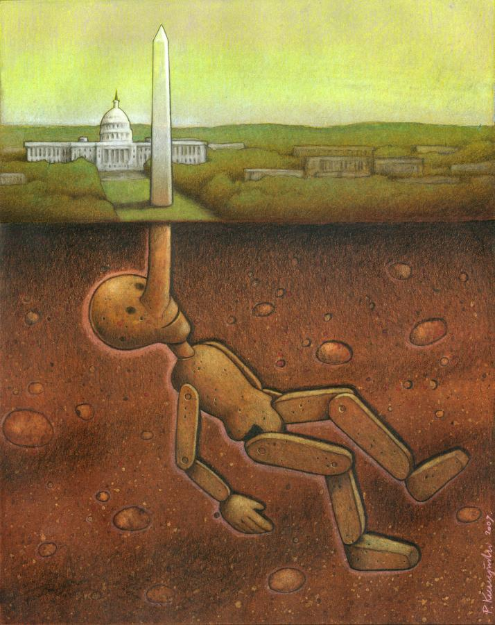 artwork satire cartoonist pawel kuczynski polish 23 Brilliant Satirical Artwork by Pawel Kuczynski