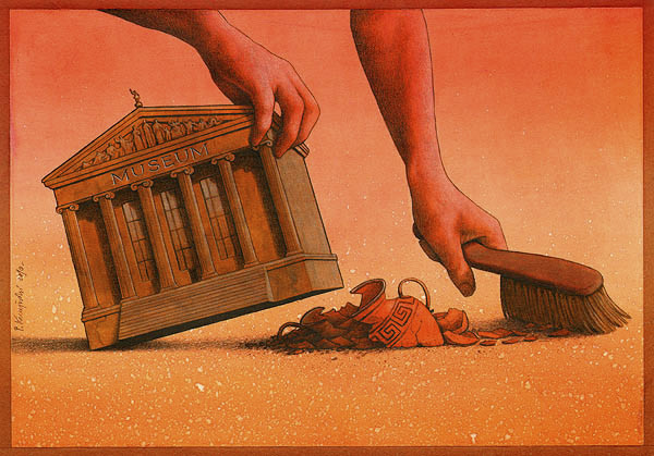 artwork satire cartoonist pawel kuczynski polish 24 Brilliant Satirical Artwork by Pawel Kuczynski