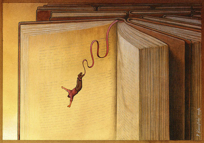 artwork satire cartoonist pawel kuczynski polish 25 Brilliant Satirical Artwork by Pawel Kuczynski