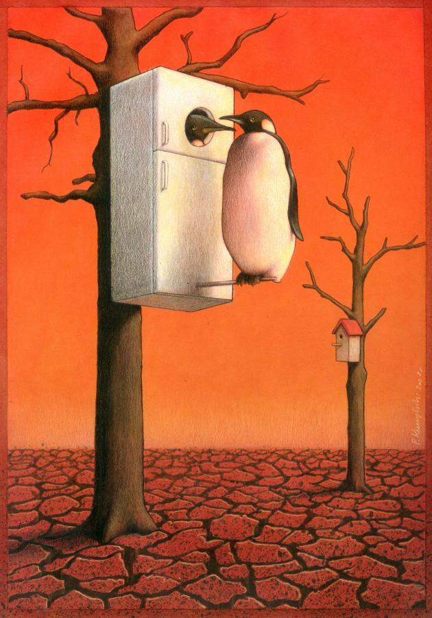 artwork satire cartoonist pawel kuczynski polish 26 Brilliant Satirical Artwork by Pawel Kuczynski