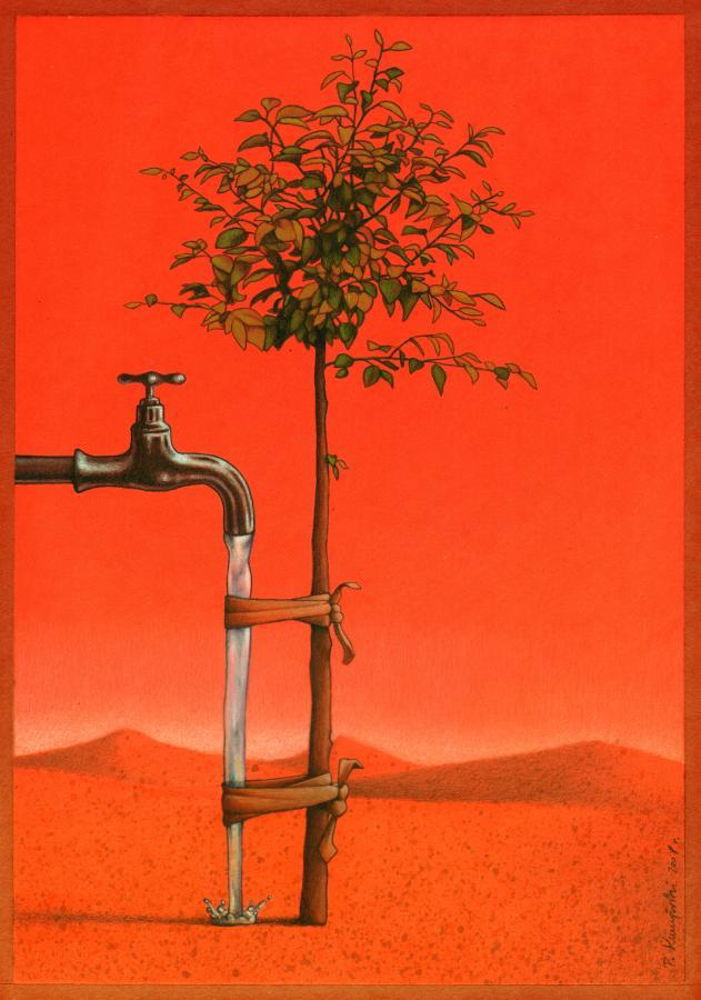 artwork satire cartoonist pawel kuczynski polish 28 Brilliant Satirical Artwork by Pawel Kuczynski
