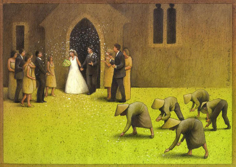 artwork satire cartoonist pawel kuczynski polish 30 Brilliant Satirical Artwork by Pawel Kuczynski