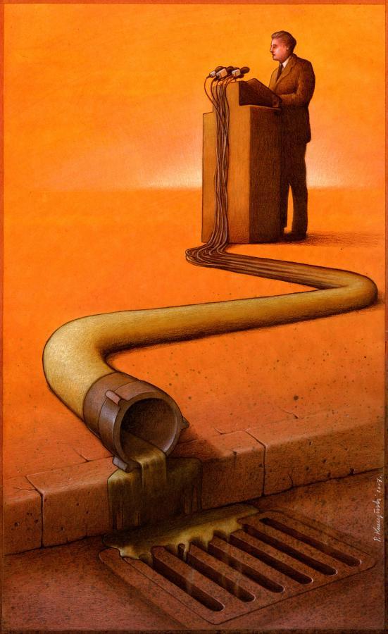 artwork satire cartoonist pawel kuczynski polish 5 Brilliant Satirical Artwork by Pawel Kuczynski