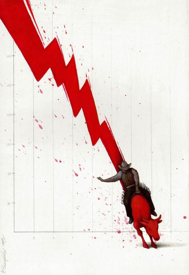 artwork satire cartoonist pawel kuczynski polish 6 Brilliant Satirical Artwork by Pawel Kuczynski