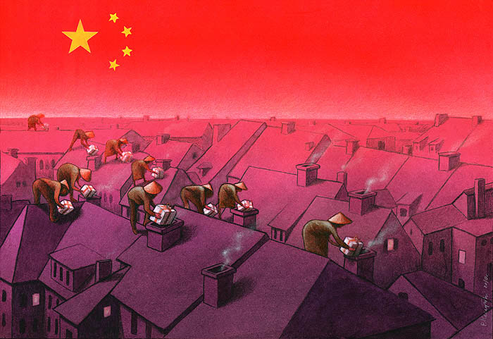 artwork satire cartoonist pawel kuczynski polish 9 Brilliant Satirical Artwork by Pawel Kuczynski