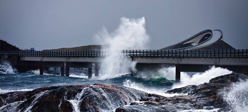 atlantic road norway 1 The Atlantic Road: Norways Construction of the Century
