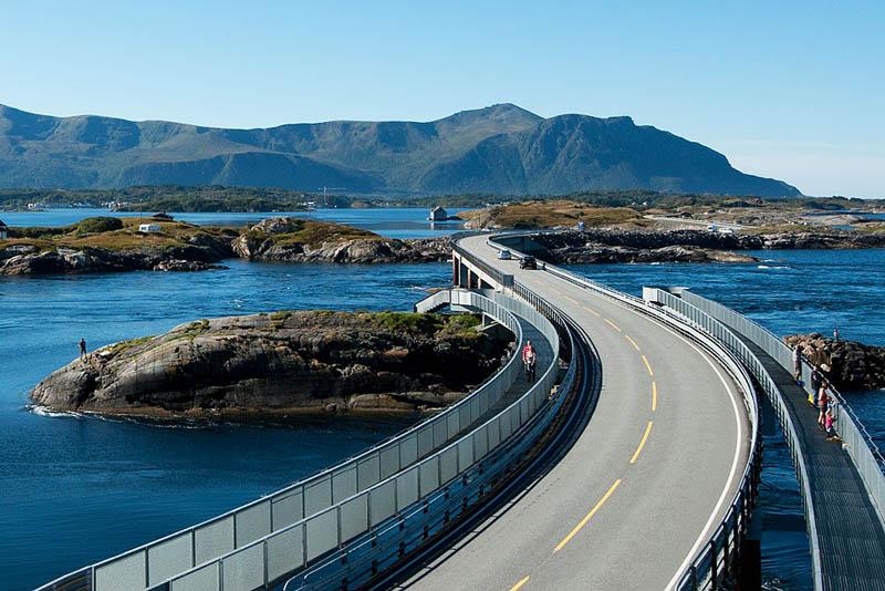 atlantic road norway 3 The Atlantic Road: Norways Construction of the Century