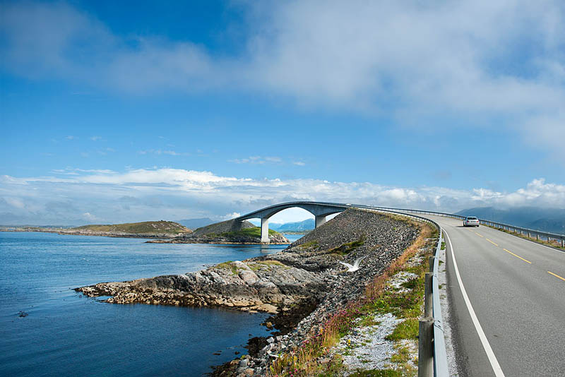 atlantic road norway 4 The Atlantic Road: Norways Construction of the Century