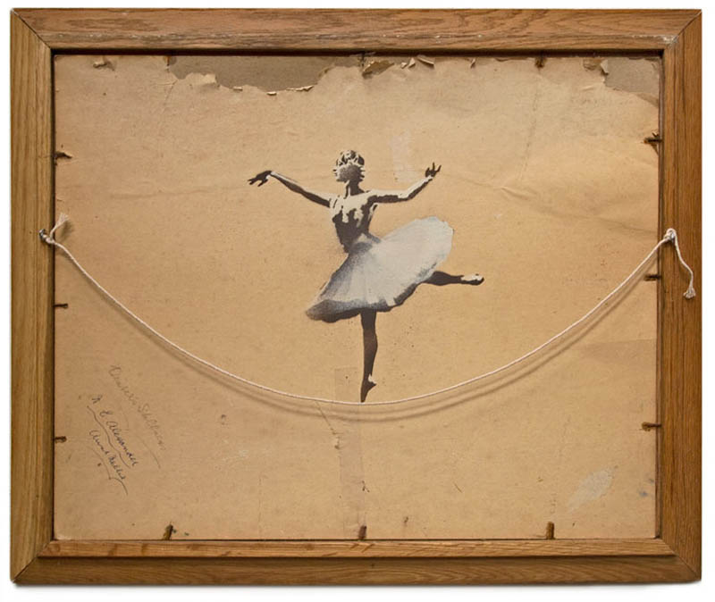 10 Latest Artworks from Banksy