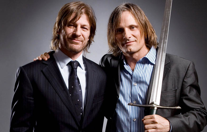 bean mortinsen lord of the rings empire shoot Actors Revisit Their Famous Roles in Normal Attire