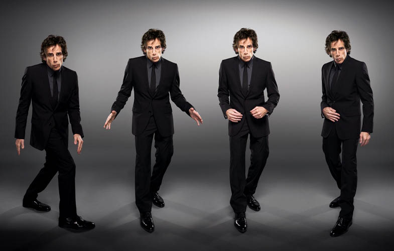 ben stiller zoolander Actors Revisit Their Famous Roles in Normal Attire