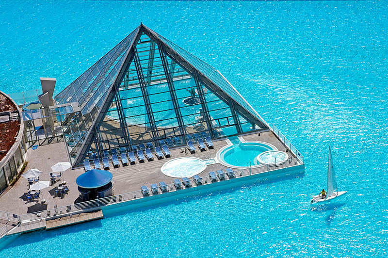 Biggest Swimming Pool In The World San Alfonso Del Mar 2 The Largest Swimming  Pool In Part 73