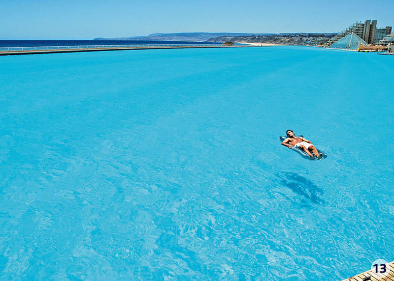 the largest swimming pool in the world  u00abtwistedsifter