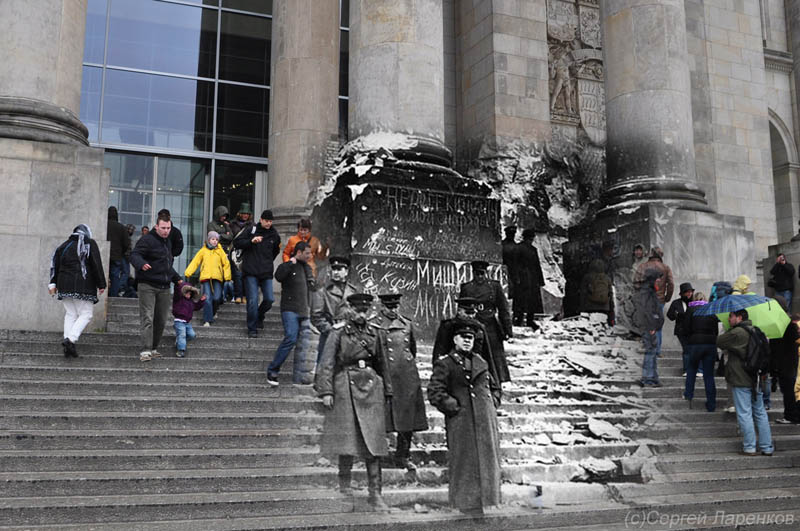 blending scenes from wwii into present day berlin Blending Scenes from WWII into Present Day