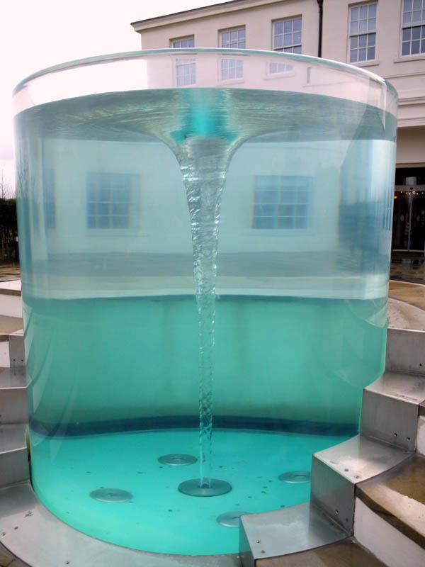 Amazing Vortex Water Sculpture By William Pye Twistedsifter