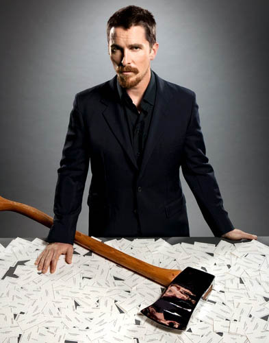 christian bale american psycho empire shoot Actors Revisit Their Famous Roles in Normal Attire