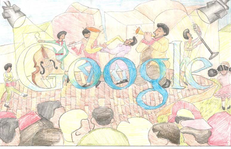 doodle for google 2012 winners grade 4 5 8 The Top 50 Google Doodle Contest Winners Gallery