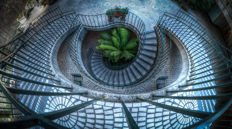 embarcadero stairs san francisco Incredible Architecture Photography by Dave Wilson