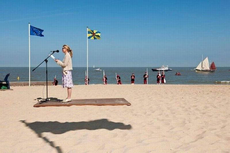 flying carpet shadow optical illusion 12 Optical Illusions Made from Shadows