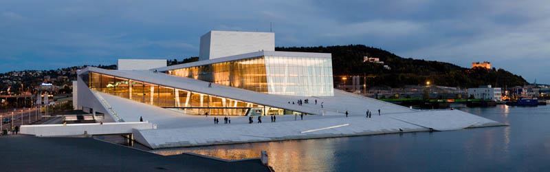 full opera by night 25 Incredible Concert Halls Around the World