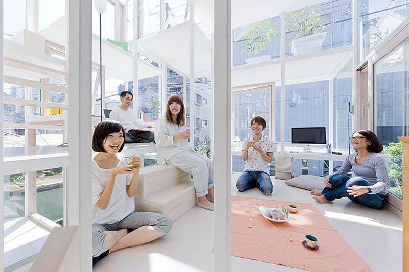 fully transparent house tokyo japan sou fujimoto architects 12 The Fully Transparent House in Tokyo