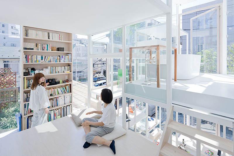 fully transparent house tokyo japan sou fujimoto architects 13 The Fully Transparent House in Tokyo