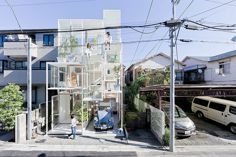 fully transparent house tokyo japan sou fujimoto architects 2 The Fully Transparent House in Tokyo