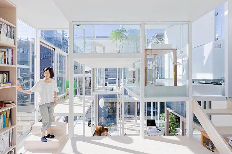 fully transparent house tokyo japan sou fujimoto architects 3 The Fully Transparent House in Tokyo