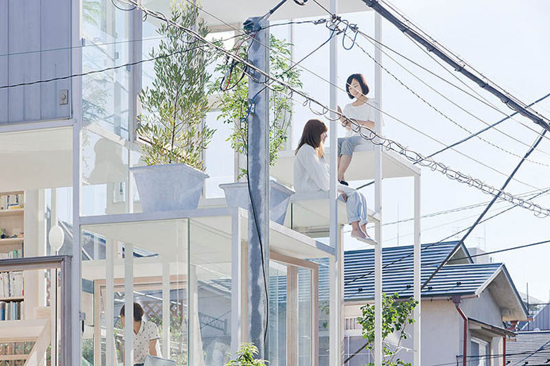 fully transparent house tokyo japan sou fujimoto architects 5 The Fully Transparent House in Tokyo