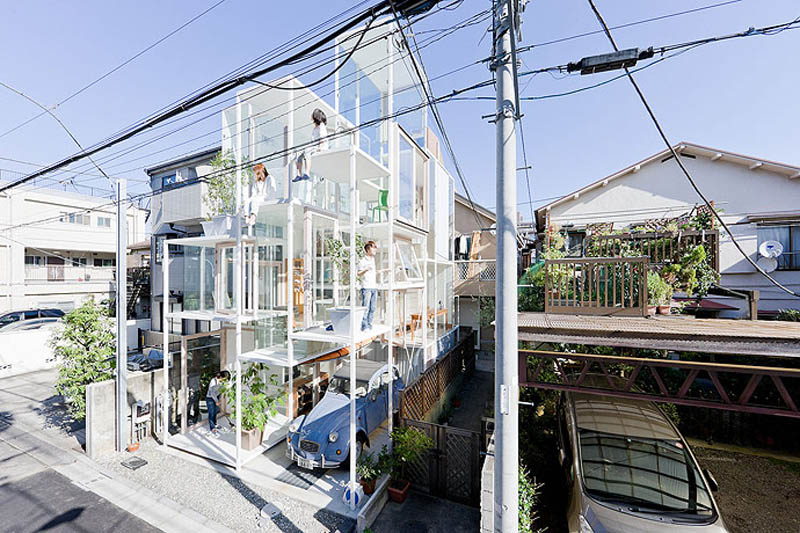fully transparent house tokyo japan sou fujimoto architects 7 The Fully Transparent House in Tokyo