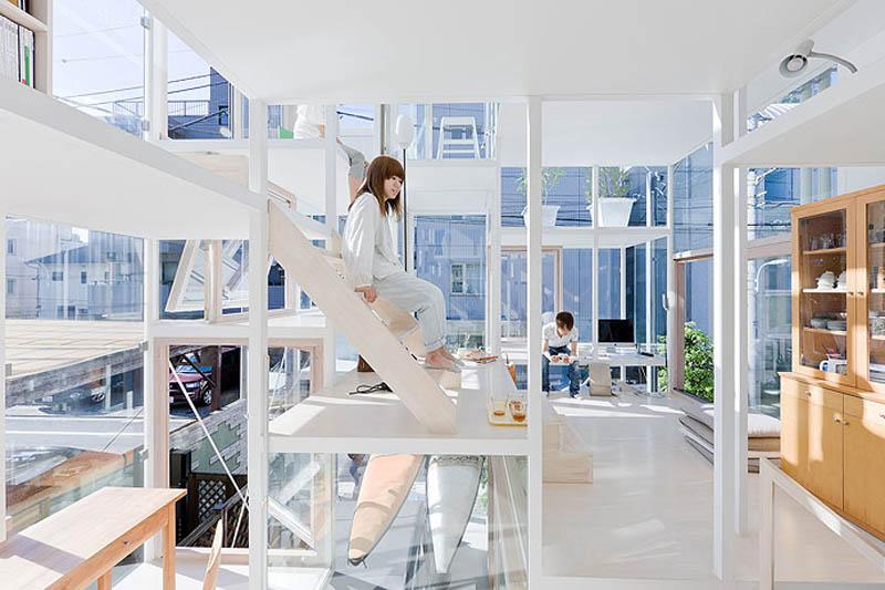fully transparent house tokyo japan sou fujimoto architects 8 The Fully Transparent House in Tokyo